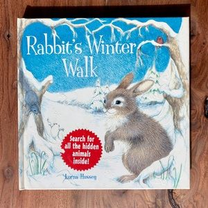 Other - Rabbit's Winter Walk Hardcover by Lorna Hussey